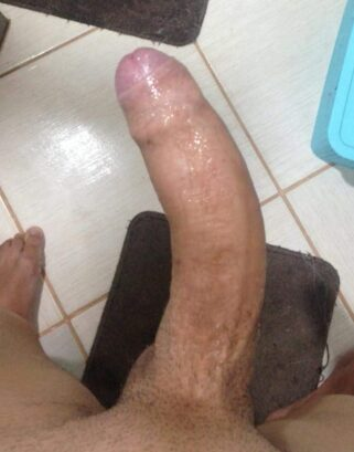 Big dick with a curve