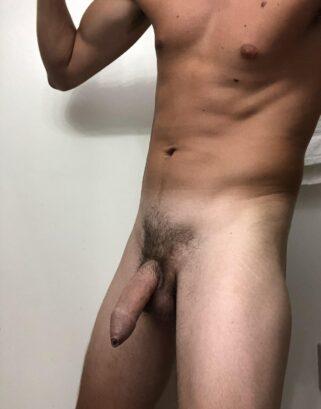 Big soft cock hanging down