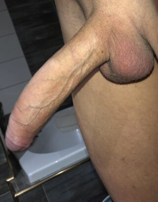 Closeup picture of a big cock
