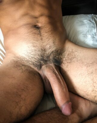 Hunk with a huge cock