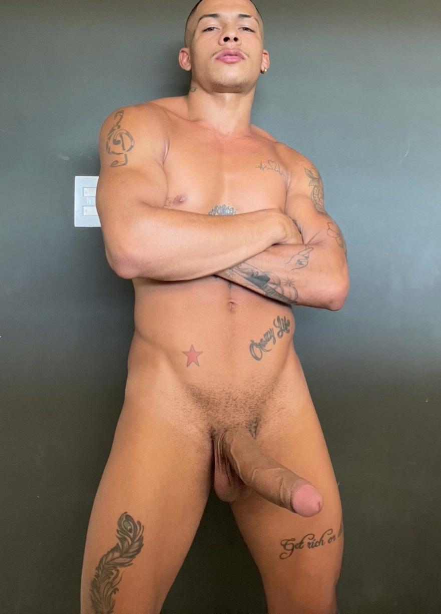 Latino stud with big cock