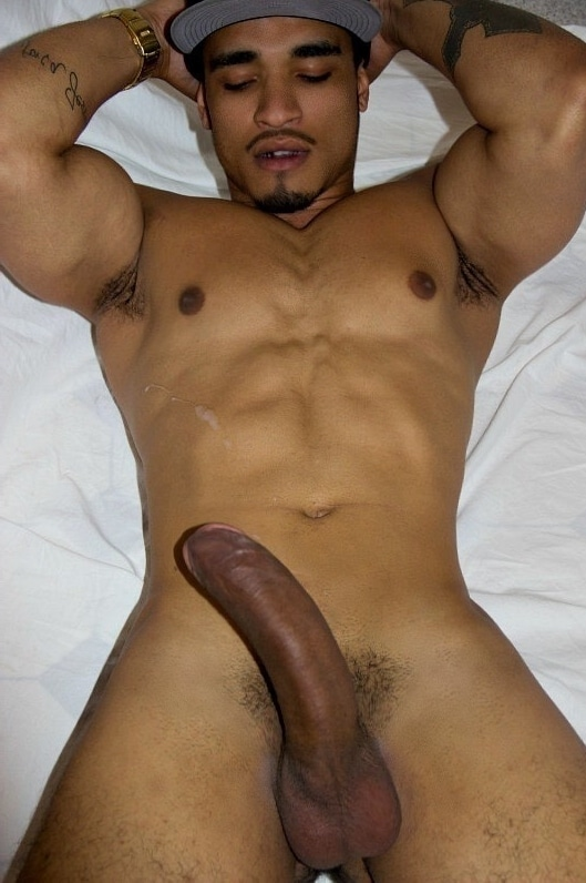 Stud with a big brown dick