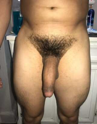 Very big hairy penis